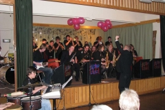 The Big Band evenings are very popular!
