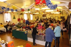 The Christmas Fayre is a very busy day!
