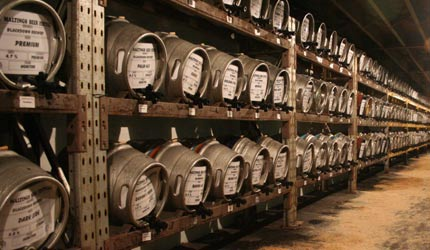Barrels at the Mayfield Beer Festival