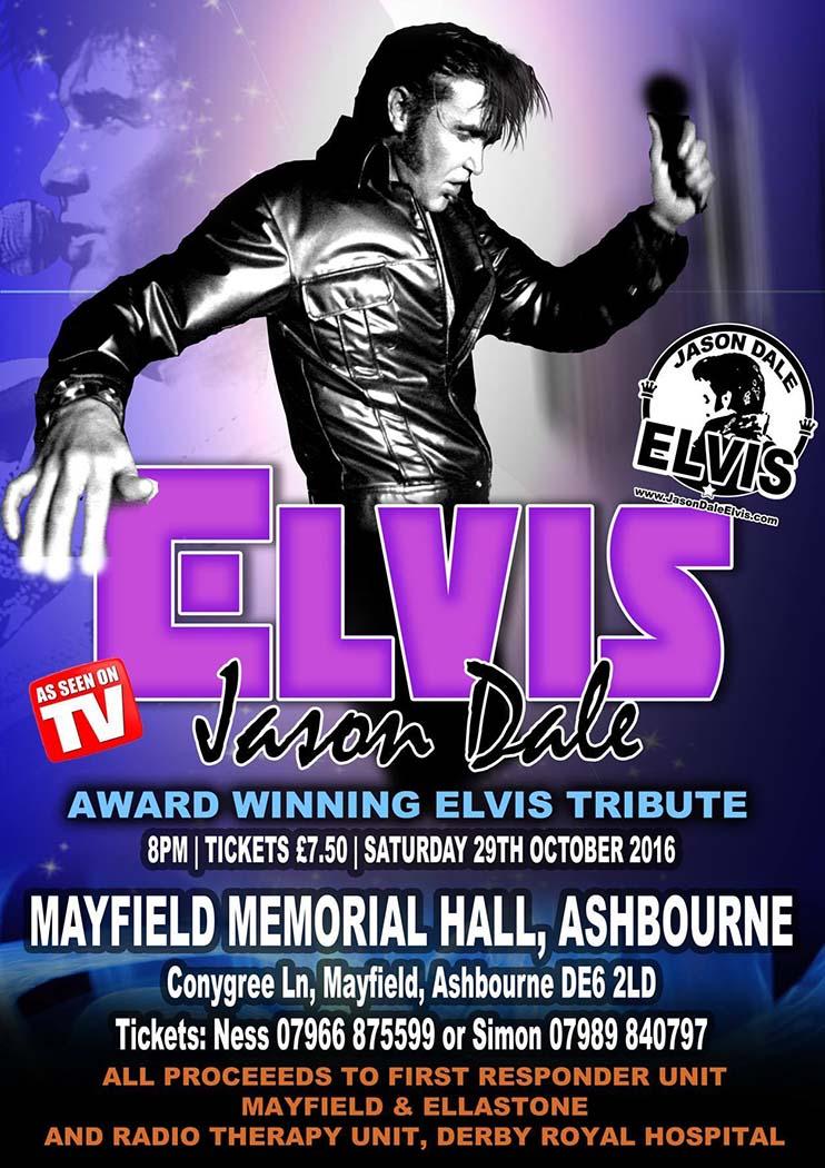 Elvis impersonator tribute act