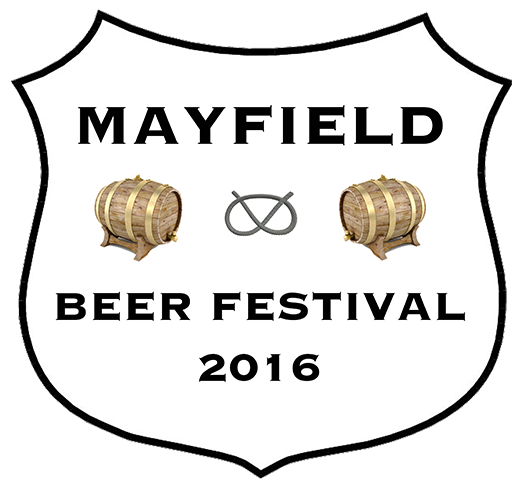 Official beer festival shield
