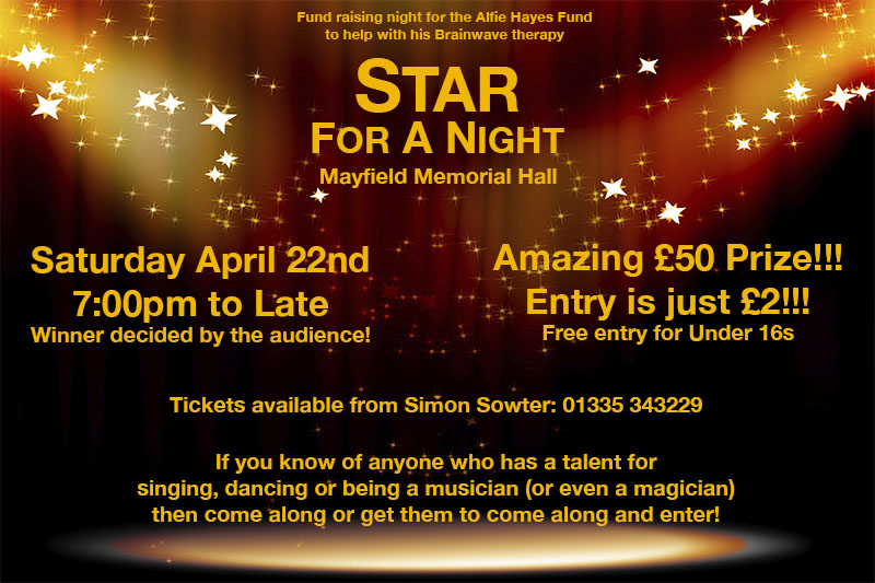 star for a night talent show mayfield
